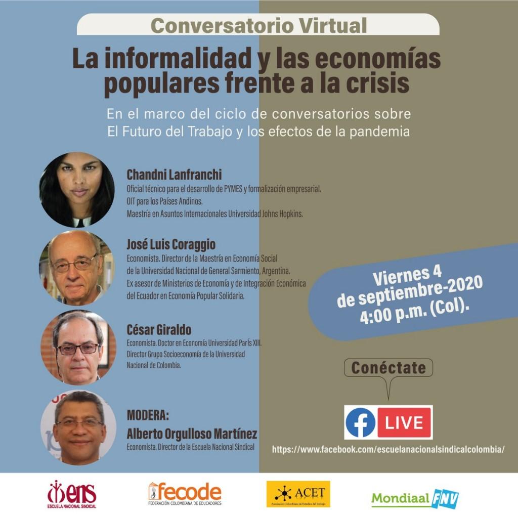 200904_Foro Virtual Informalidad - Economia Popular